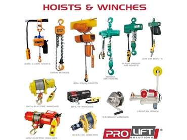Lifting Equipment from Prolift