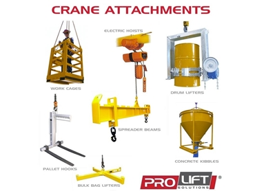 Tailor Made Solutions for All Your Lifting Problems.