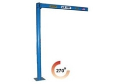 Light slewing jib crane available from Prolift