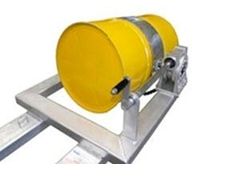 The DRW-NH drum rotator forklift attachment is ideal for long arm applications