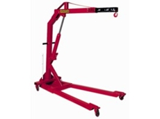 Mobile foldaway floor crane available from Prolift