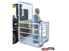 Model WP-N Forklift Work Cages available from Prolift Solutions