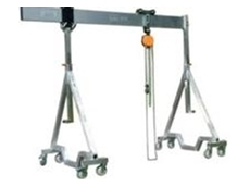 The Moveable Aluminium Gantry Crane