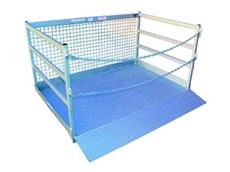 WP-GC18 forklift goods cages offer a safe working load of 1000kg