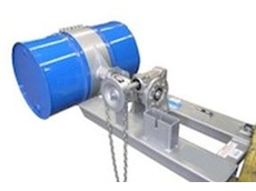 The forklift sideways drum rotation attachment is available from Prolift Solutions