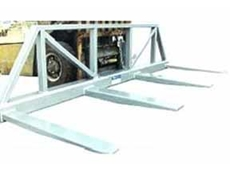 Type FS3-LG fork spreaders and load guards from Prolift Solutions