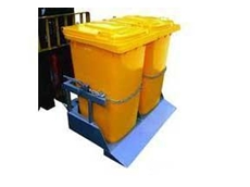 Type NWB-T2 wheelie bin tipper