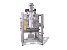 Intermittent Series of vertical form fill seal machines offers flexible production of a range of bags