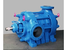 High pressure horizontal radial split multistage pumps
