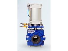 RF pinch valves