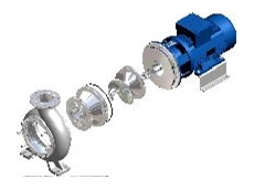 ZCD screw impeller centrifugal pump.