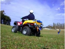 C-Dax CDA low volume spray booms are ideal for use with ATV vehicles