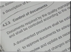 QA-Z Consulting Specialists explain Control of Documents clause - Legible and Identifiable
