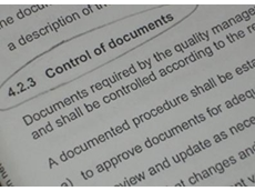 ISO 9001: Control of Documents (Clause 4.2.3)