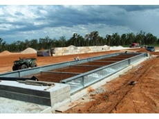 This concrete deck weighbridge in Queensland was commissioned from QWM