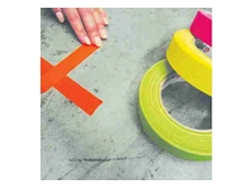 FL166 matt fluoro cloth tapes