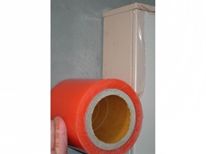 SI36 orange PE light duty protection tape