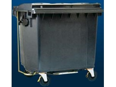 110 litre flat lid wheelie bins feature a reinforced comb construction