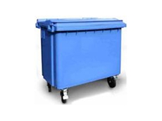 660 litre wheelie bins feature a flexible lid