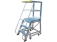 Bailey deluxe order picker platform ladders