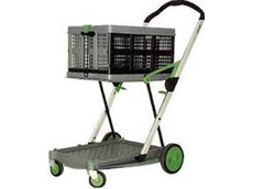 Clax Cart 2 tier collapsible trolley
