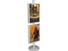 Communicator poster and brochure holder display stands