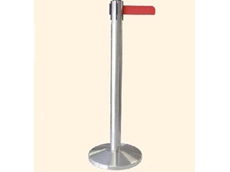 Econo-belt retractable belt stanchions