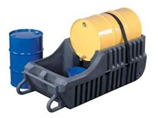 Gator spill containment caddys feature a 250 litre spill sump to contain chemical spills