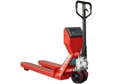 Hytsu weight scale pallet truck from RJ Cox Engineering