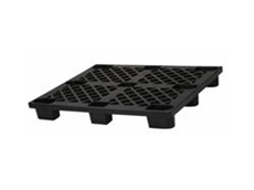 Injection moulded plastic pallets can be used for shipping, storage and export