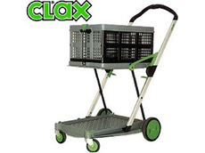 Clax Cart Trolley from RJ Cox Engineering are lightweight and portable