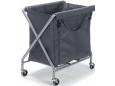 Servo-X numatic laundry trolleys