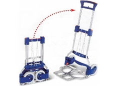 Easy folding RuXXac hand trucks and trolleys from R J Cox Engineering