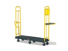 Rubbermaid 9T45 StockMate ES restocking trucks are ideal for restocking purposes