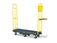 Rubbermaid 9T50 StockMate restocking trucks are available in standard and folding models