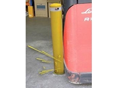 Shock absorbing bollards