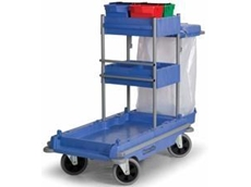 VCN1804 Versacare All-Terrain Janitor Cart available from R J Cox Engineering