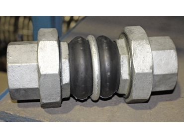 Twin Sphere UTU Rubber Expansion Joint