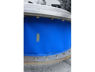 Circular Fabric Expansion Joint