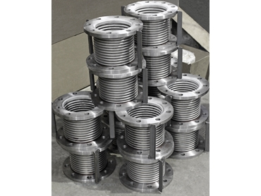 Stacked Single Metal Expansion Joints