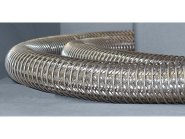 Braided Hose with SS Spring Guard Cover