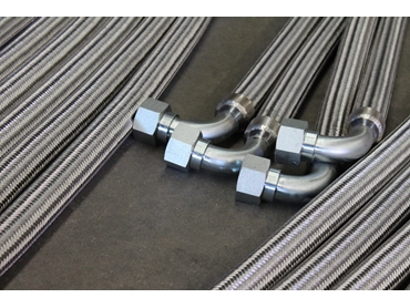 Corrugated Hose with Steel Braid for Gas or Water