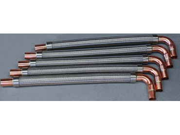 Metal Hoses with Copper Ends