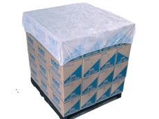 Breathable polypropylene, elasticized pallet covers from RCR International Pty Ltd