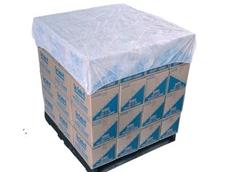 Breathable polypropylene, elasticized pallet covers from RCR International Pty Ltd