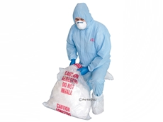 Disposable protective coveralls from RCR - Hazguard SMS