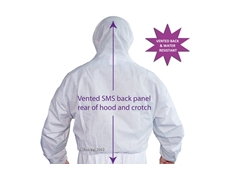Disposable protective coveralls from RCR - Hazguard VB
