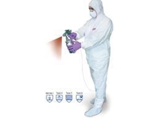 Hazguard MP4 disposable coverall