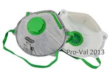 ProVal P2 carbon respirators