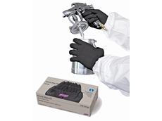 RCR International's new Nitrile Blax disposable gloves are suitable for wet or dry applications